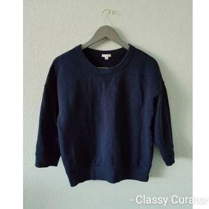 GAP oversized Navy blue sweatshirt